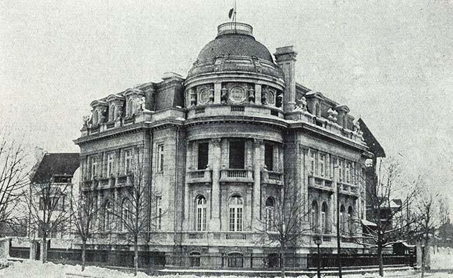 Bucureşti, casa ministrului Japoniei, din Parcul Filipescu