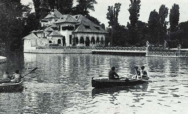 Bucureşti, Cişmigiu vara