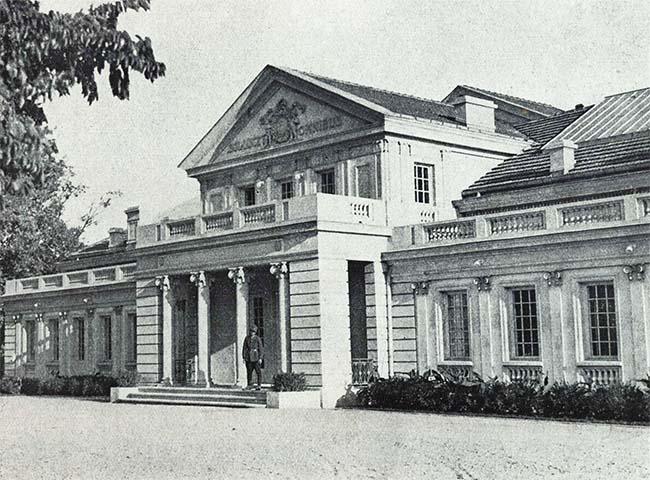 Bucureşti, Palatul Artelor, de la Şosea