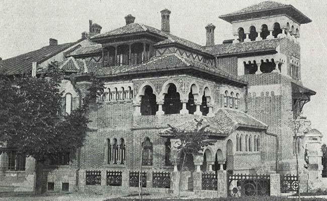 Bucureşti, Vilă pe Aleea Mitropoliei
