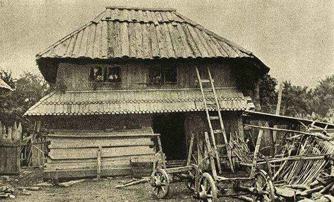 Gospodărie din Nereju, Vrancea