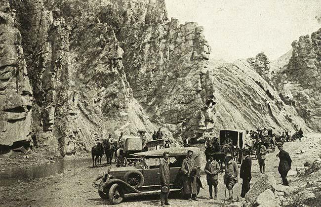 Munţii Vrancei, la Nereju