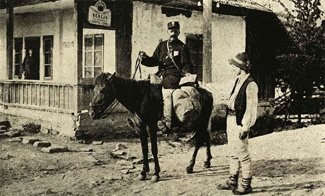 Serviciul poştal în Nereju, Vrancea