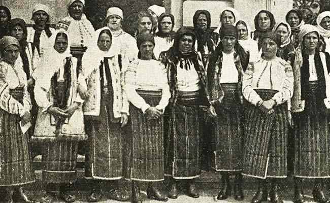 Ţărănci din Bucovina