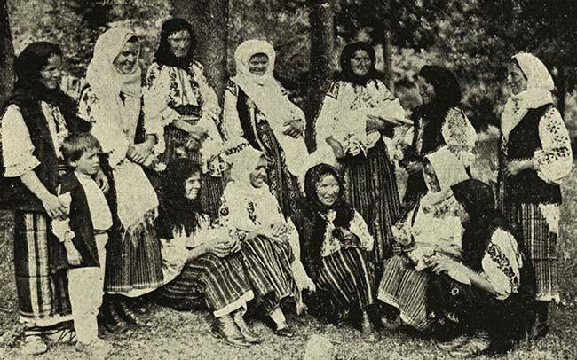Ţărănci din Nereju, Vrancea