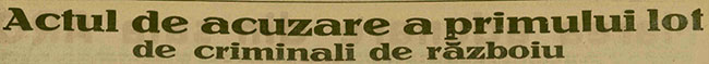 1945 Titlul