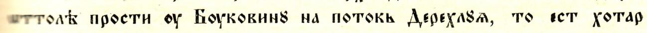 Detaliu din transcriere, p. 3