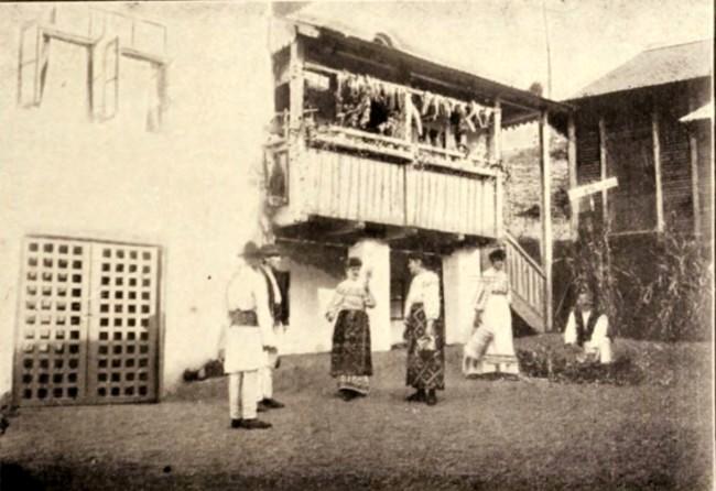 Casa ţărănească, la Expoziţia din 1906