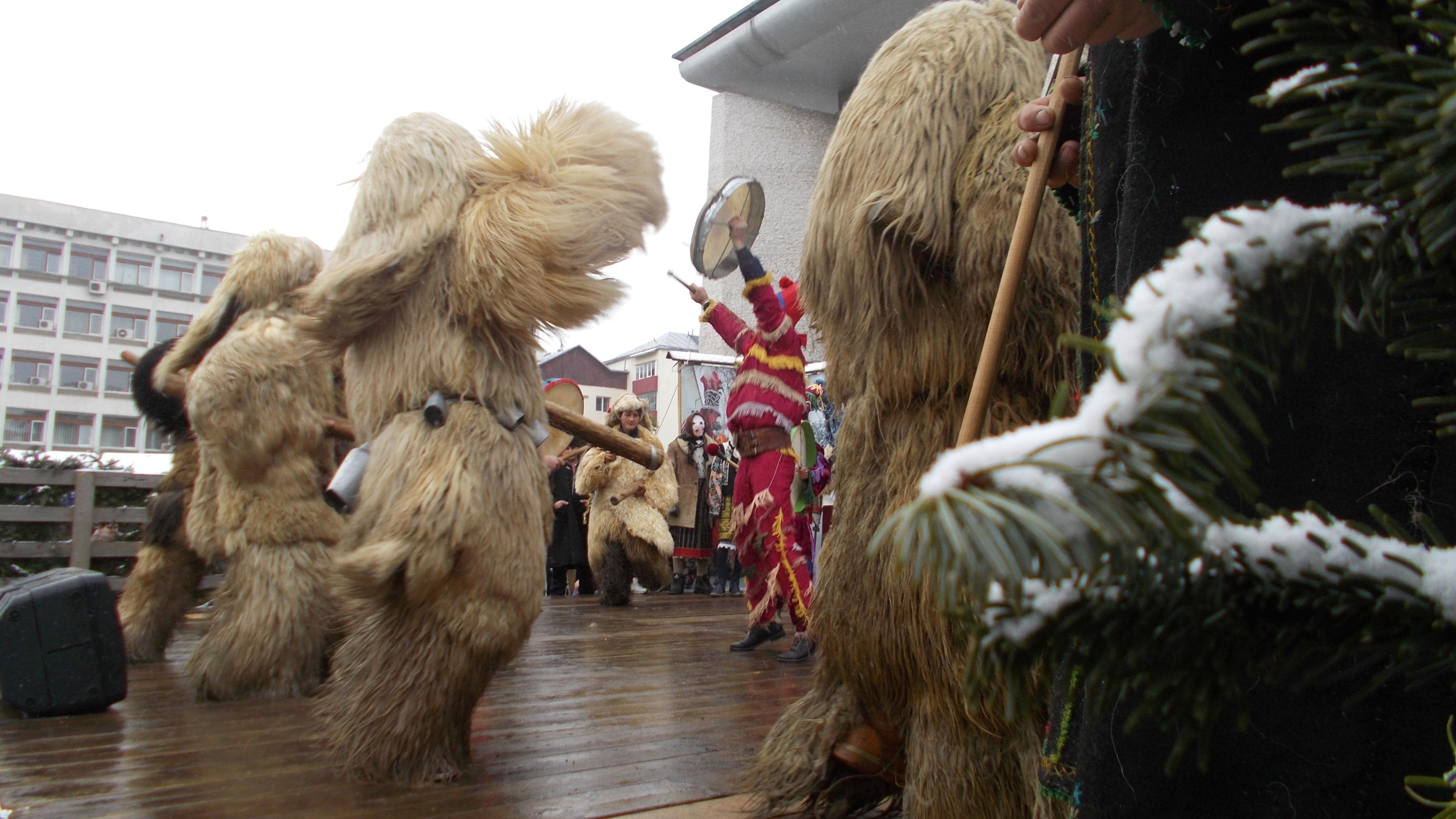 Urşii din Udeşti (ritual închinat constelaţiei de deasupra Europei, Ursa Mare)