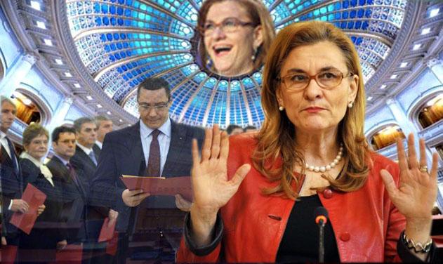 Ministrul Maria Grapini: Pot intra în Cartea Recordurilor, niciun ministru n-a spus până acum ce prost e Guvernul.