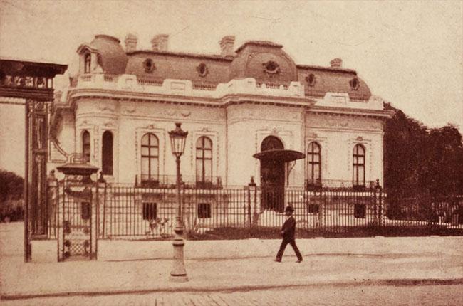 Hotel Assan, din Piața Lahovary