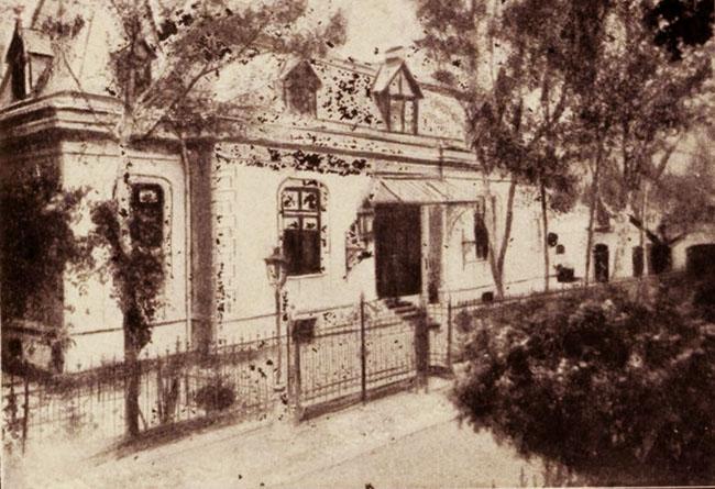 Hotelul Simu, din strada Eldorado
