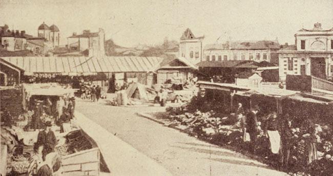 Piața de legume