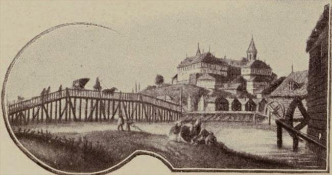 Pod pe vechiul curs al Dâmboviței