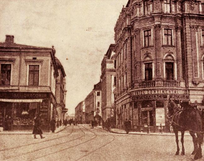 Strada Regală, Piața Teatrului
