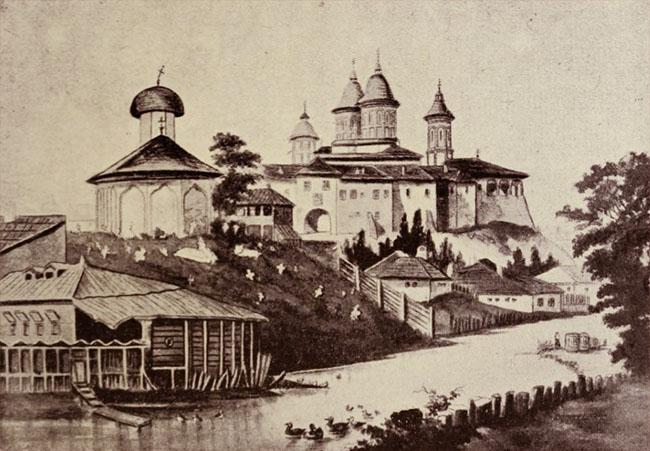 Vechiul curs al Dâmboviței
