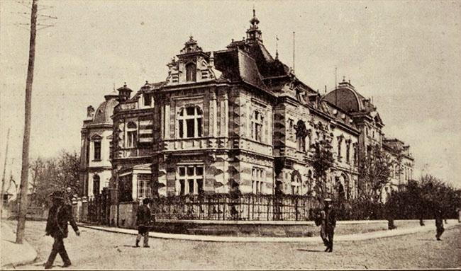 Ambasada Austriei din strada Vămii