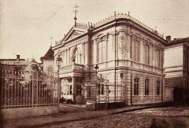 Casa Dărăscu, din strada Popa Rusu