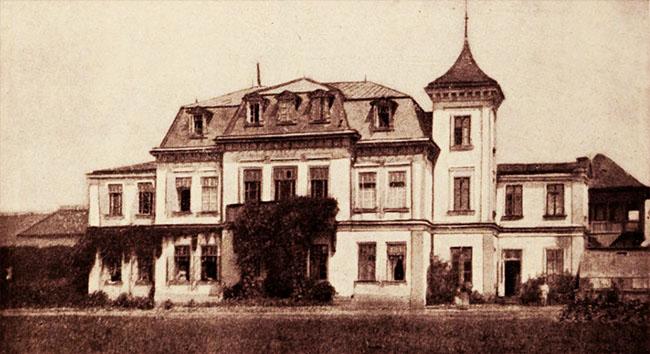 Palatul Mogoșoaia nou