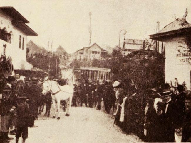 Poștalionul cu care a sosit Regele, în 1866
