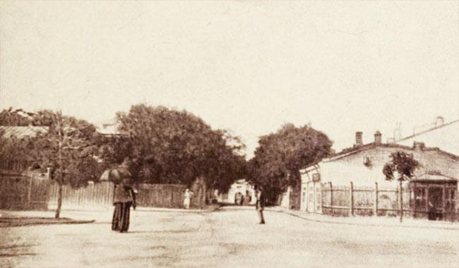 Strada Teilor, spre Piața Rossetti