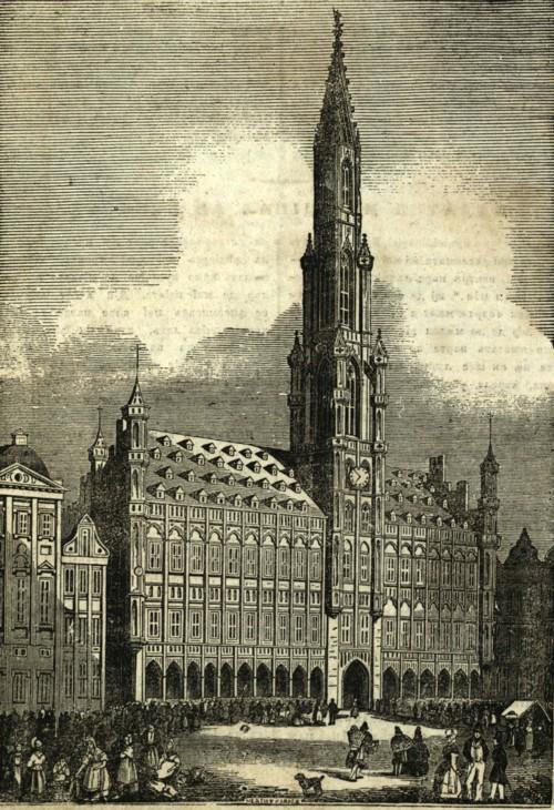 Palatul municipal din Brucsela (Bruxelle)