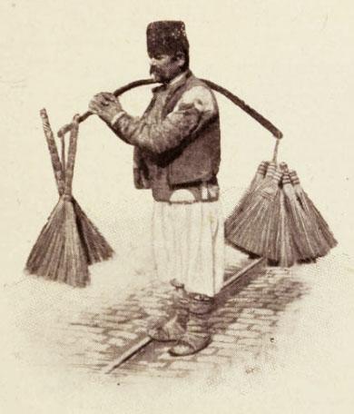Vânzător de mături