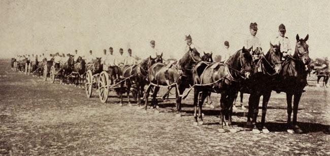 Artilerie românească, în 1906