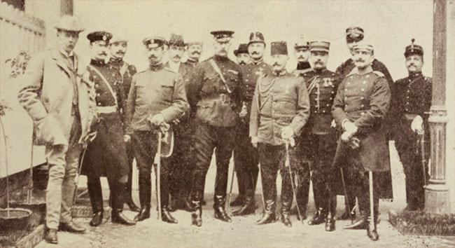 Atașați militari străini, la București, în 1906