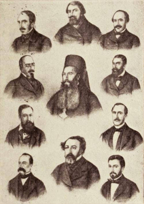 Comitetul Unirii, reunit la Iași, în 1856