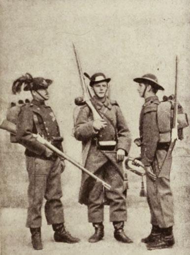 Infanterie română (vânători)