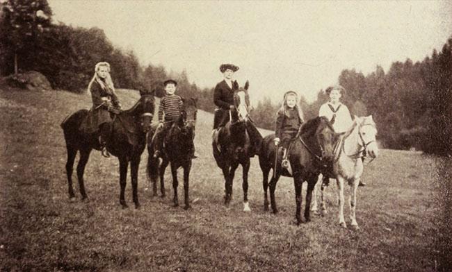 Prințesa Maria și copiii ei