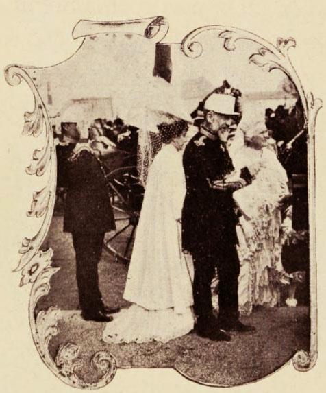 Regele și Regina, la Expoziția Naţională din 1906