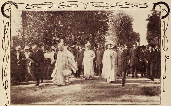 Regina, la Expoziția Națională din 1906