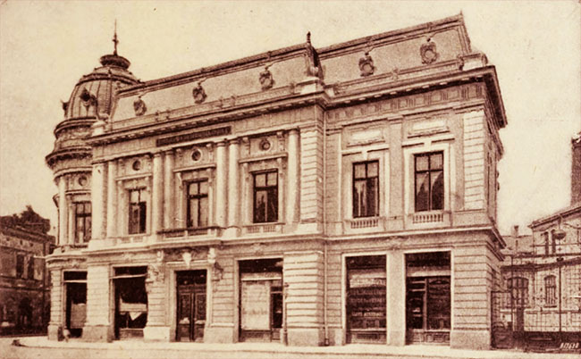 Sediul Fundației Carol I, din Piața Palatului