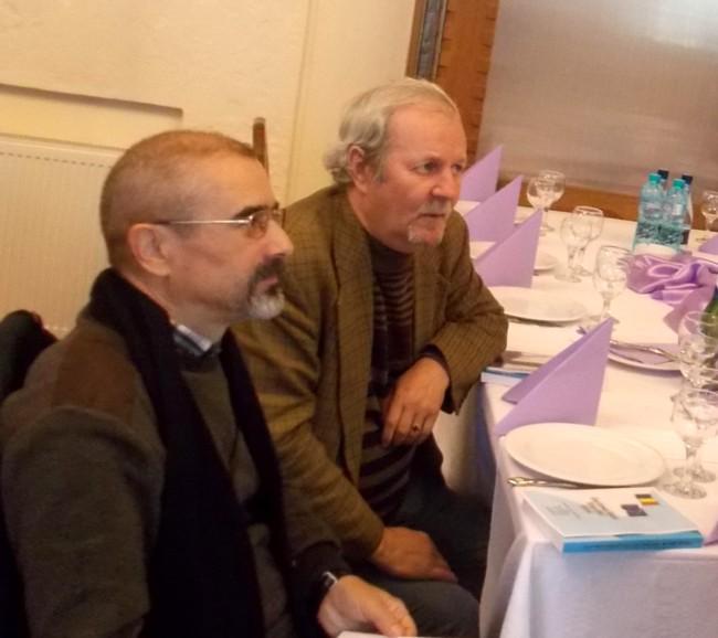 Publiciştii Tiberiu Cosovan şi Roman Istrati