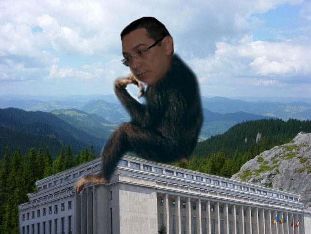 Victor Ponta: Nu cuget, dar exist! Şi nici nu plagiez, ci doar îl parafrazez pe palerul Mihai Gâdea!
