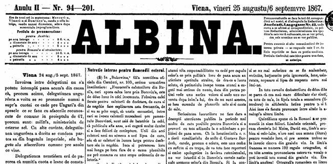 ALBINA 1867
