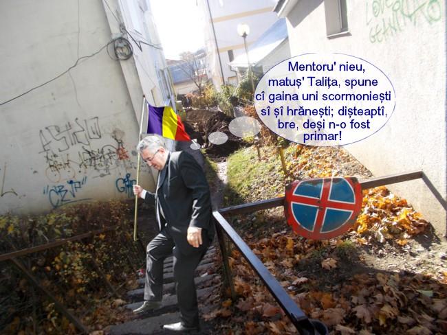 ion lungu: Un tieatru adivarat îi mai lipsăşti capitalii culturali ieuropieni pi cari o conduc io!