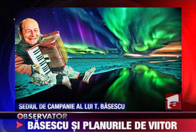 Traian Băsescu: Băăă, spuneţi-i lui Voiculescu al vostru că o s-o duc întotdeauna bii-neeee!...