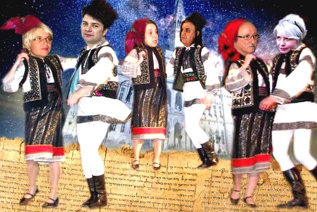 """Călin Brăteanu: Cultura Bucovineană a început """"Cu mucii în batistă"""", capodopera mea folclorică! V. C. Steiciuc: Aşa este! Sunteţi un lucru foarte mare, iar poezia este un lucru foarte important!"""