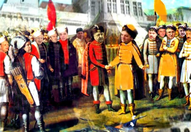 Gavril Mîrza: Sunt de acord cu unirea în cuget şi în simţiri, dar Consiliul Judeţean să rămână al nostru... Gheorghe Flutur: Şi cu idealurile revoluţiei portocalii cum rămâne?