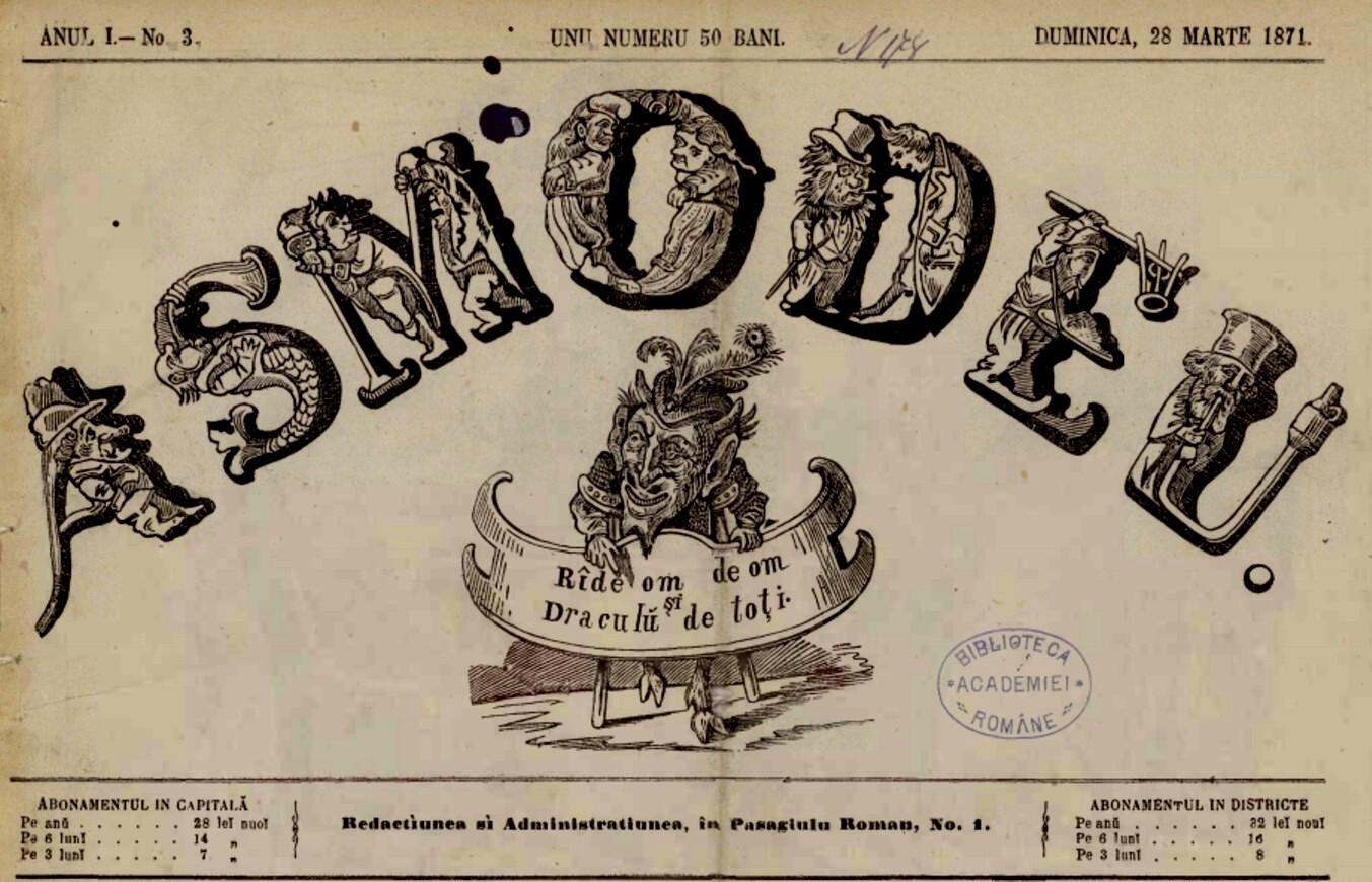 ASMODEU 1871 generic nr 3