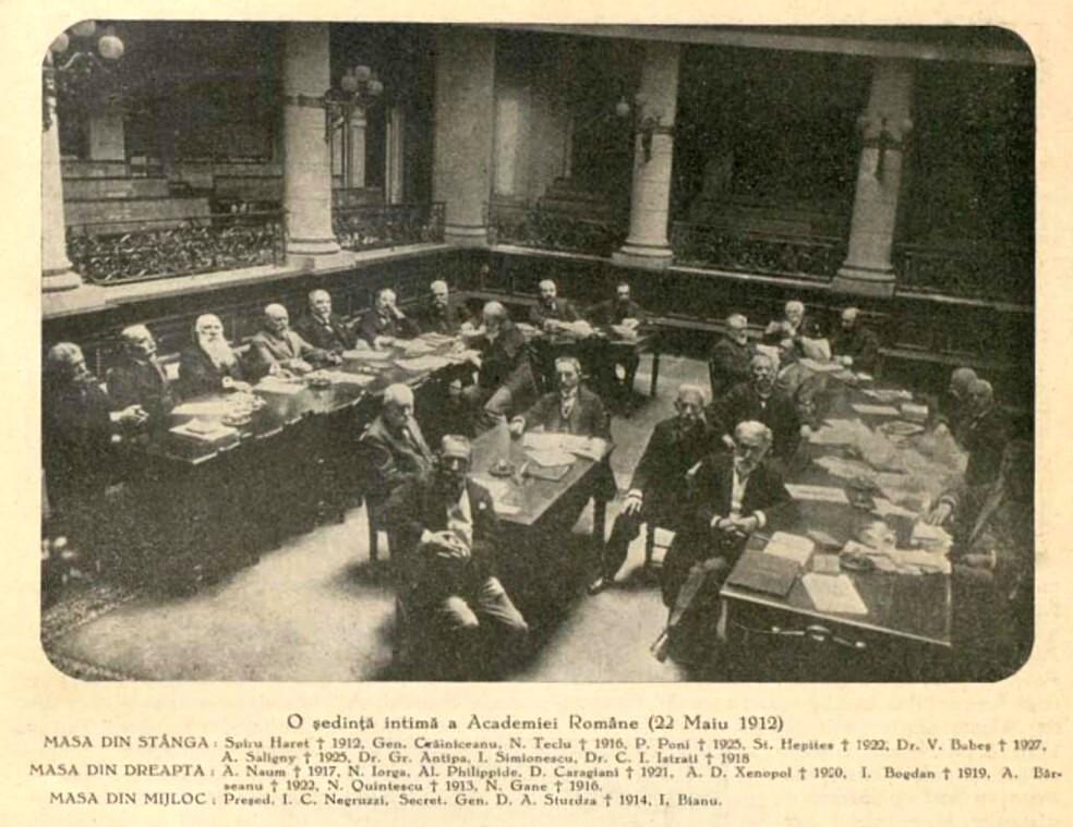 Academicieni 1912 BOABE DE GRAU Anul I 1930 n 1 p 5