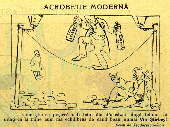 Acrobetie moderna FURNICA nr 6 1910