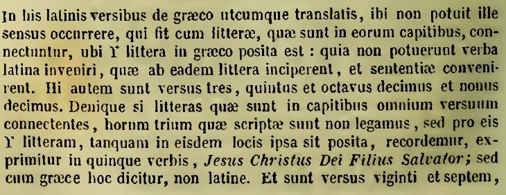Acrostih precizare latina