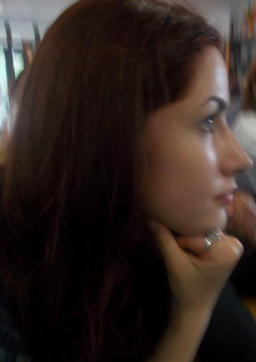 Actriţa Maria Teişanu