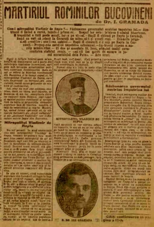 Adevărul, 17 aprilie 1915