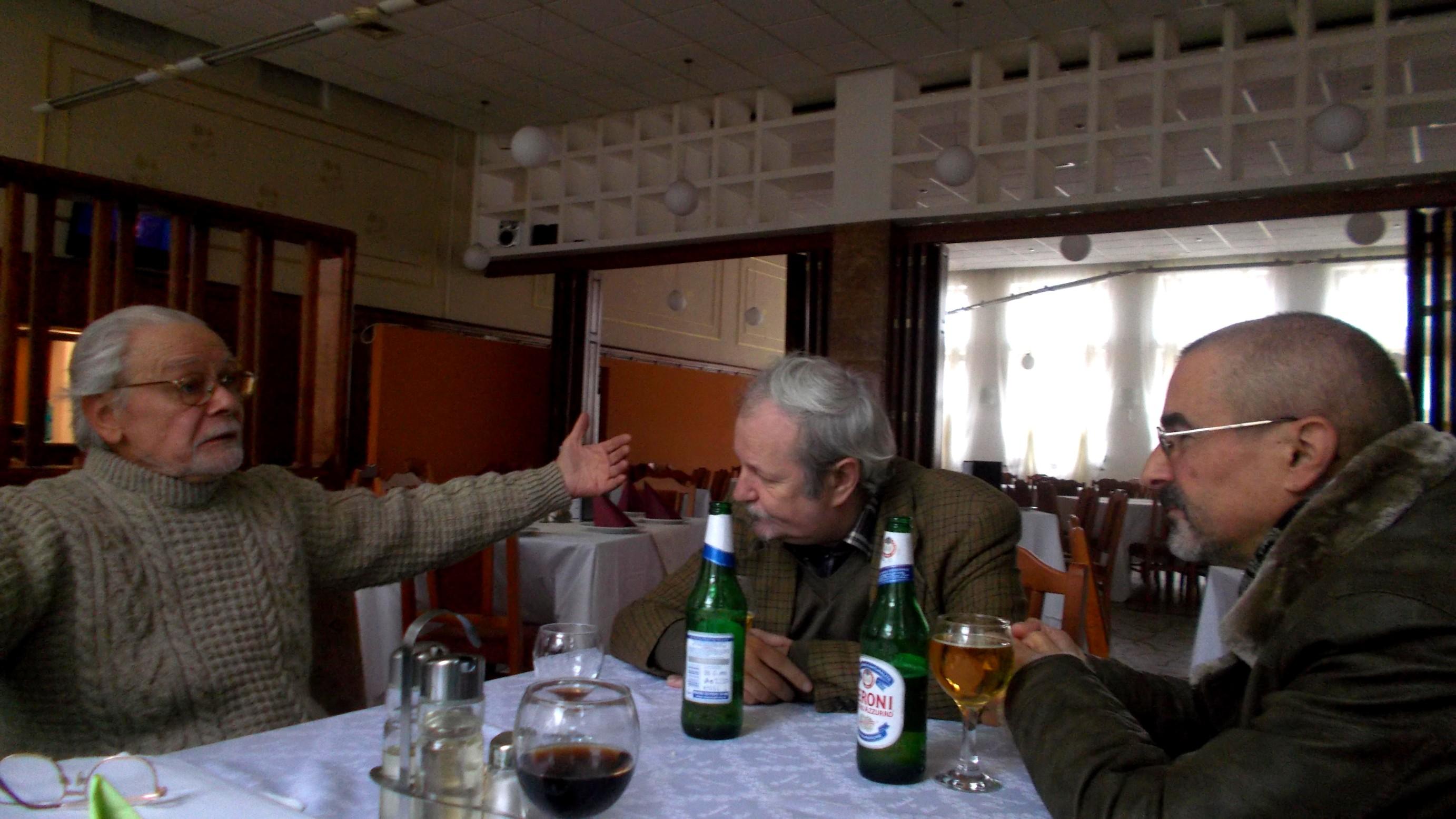 Adrian Bocancea, Roman Istrati şi Tiberiu Cosovan