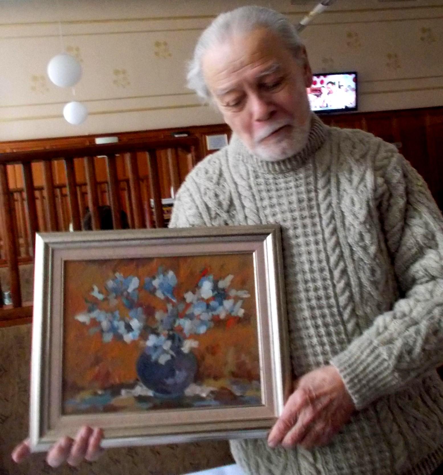Pictorul Adrian Bocancea şi opera sa